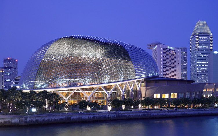 Singapore's Esplanade theatres. No tax havens here.