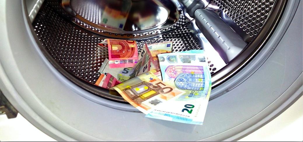 money laundering machine